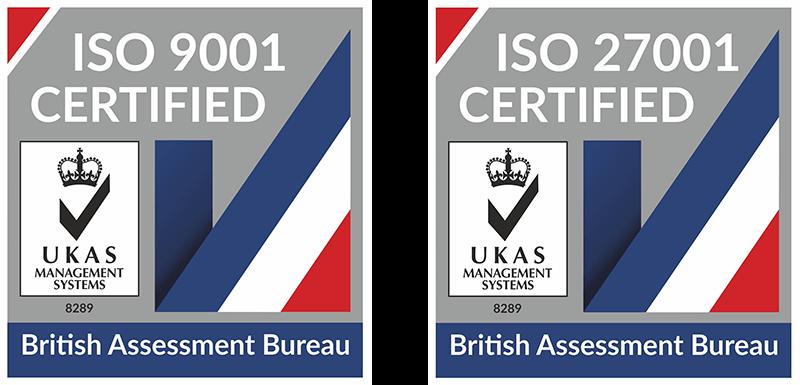 ISO 9001, ISO 27001